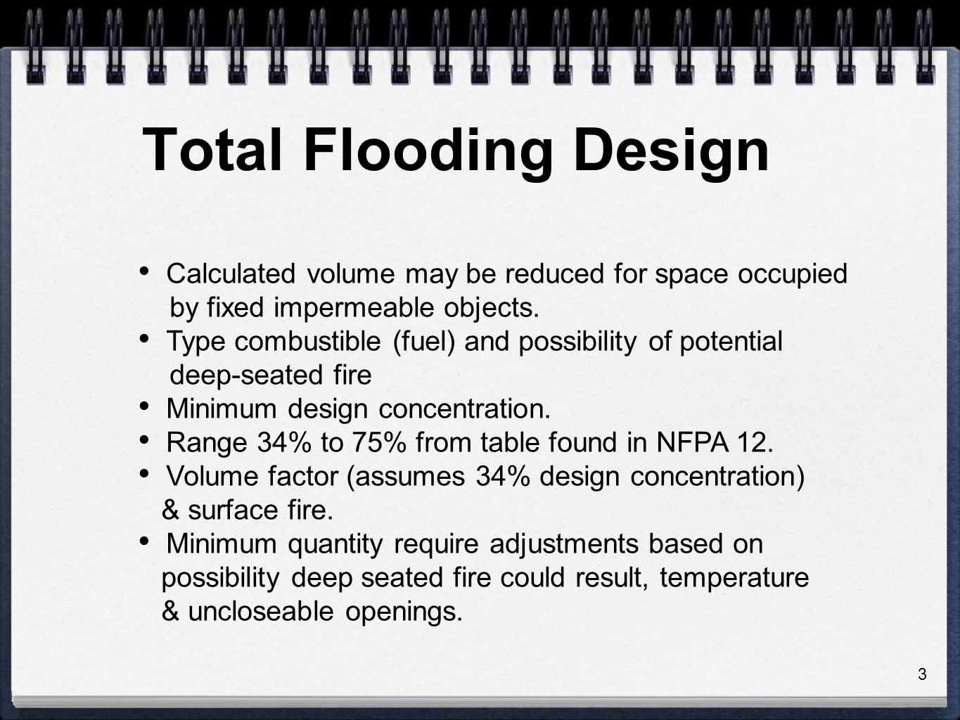 Total Flooding Systems Ppt Video Online Download