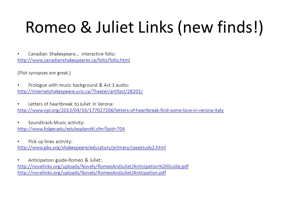 Romeo juliet in a few english words ppt video online download 27 romeo spiritdancerdesigns Images