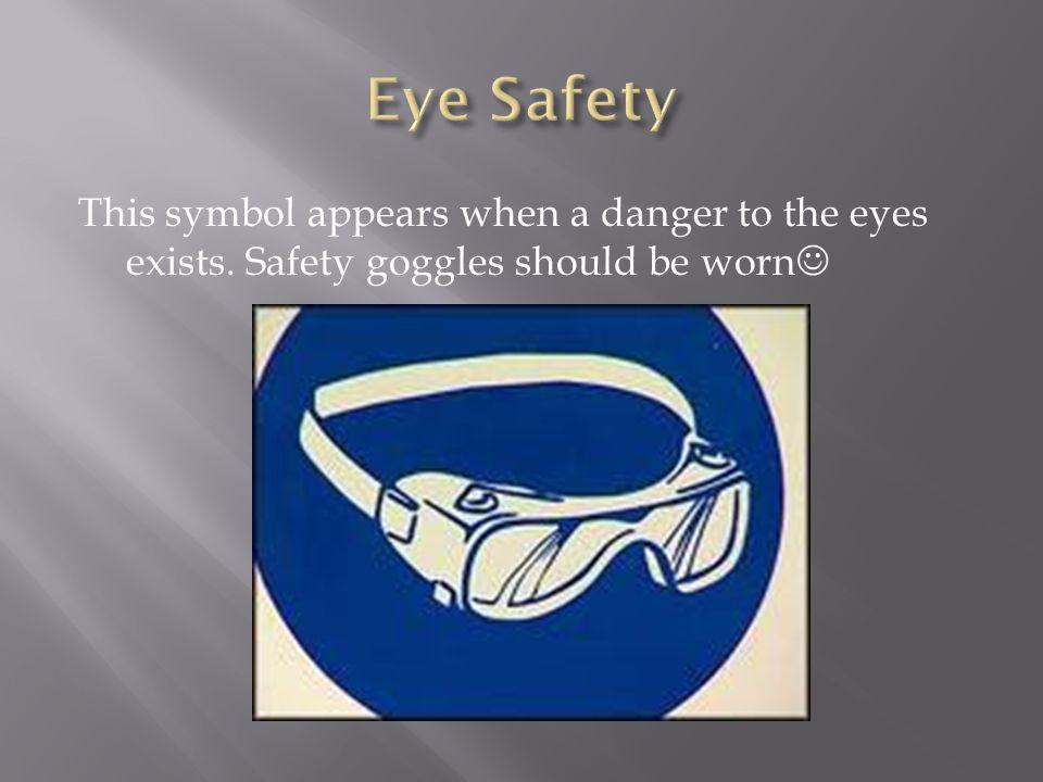 Lab Safety Symbols Ppt Video Online Download