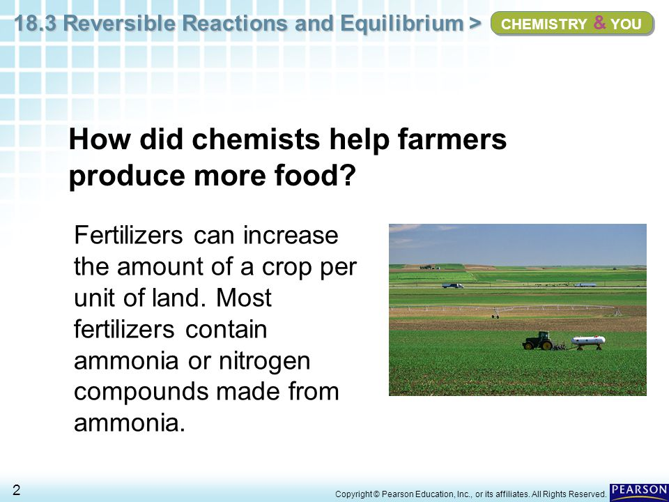 How did chemists help farmers produce more food