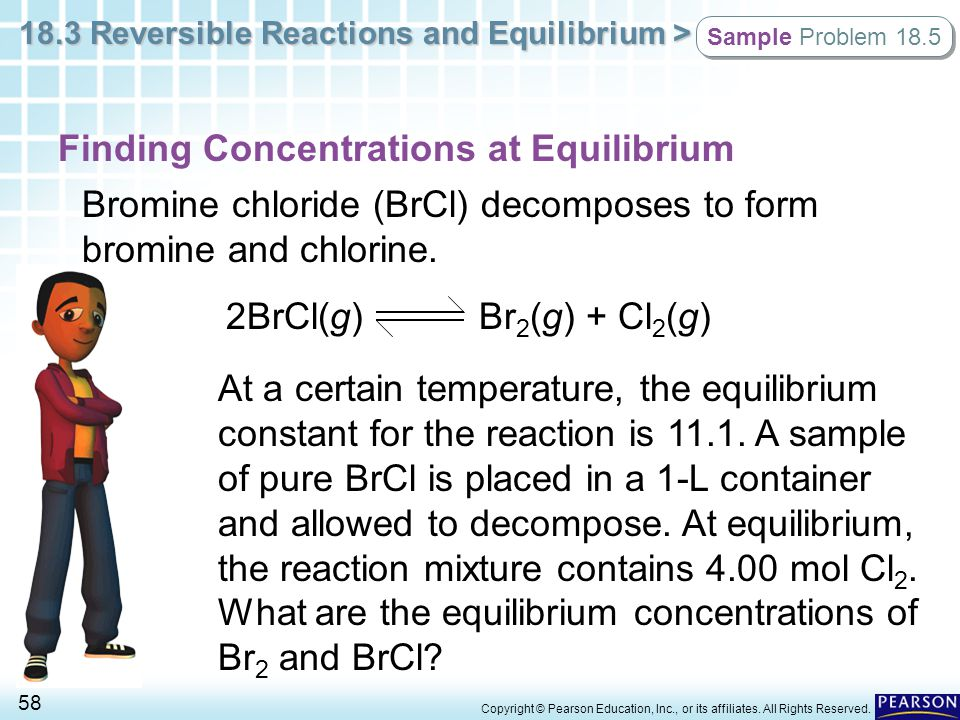 Finding Concentrations at Equilibrium