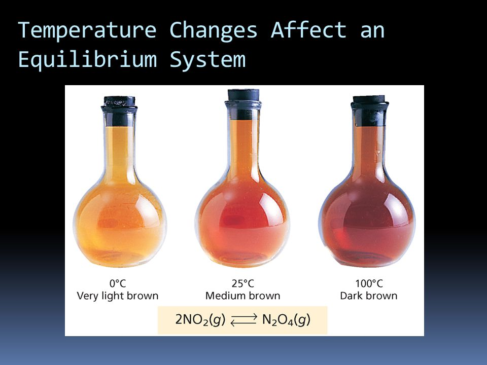Temperature Changes Affect an Equilibrium System