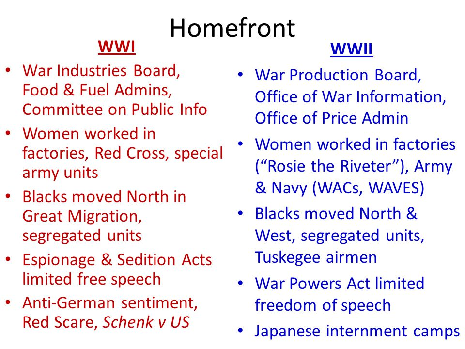 causes of wwi and wwii