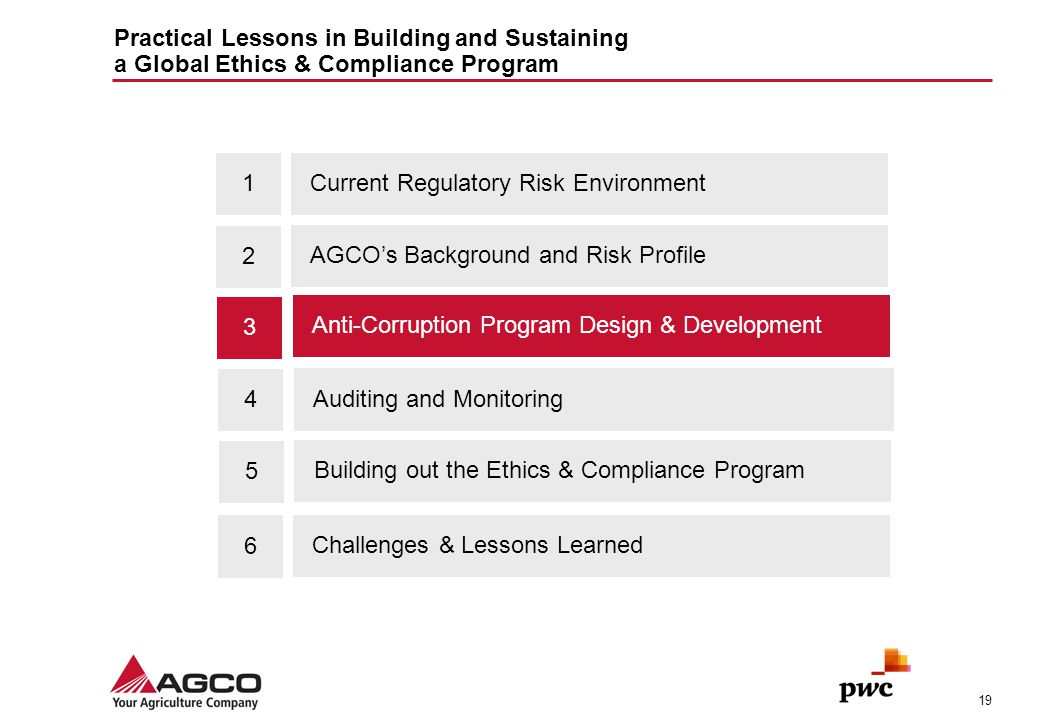 Agenda 1 Current Regulatory Risk Environment 2 - ppt download