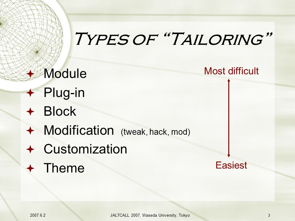 Tailoring Moodle to Your Own Needs - ppt video online download