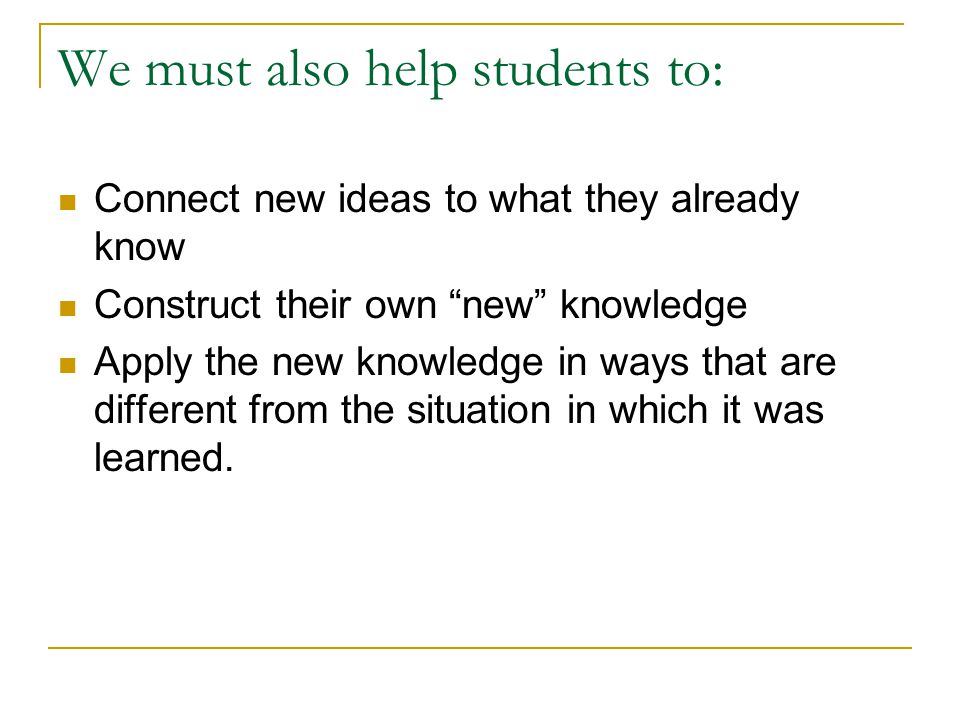 The Use Of Innovative Instructional Strategies Jeanelle Day Phd