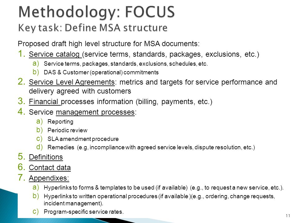 Master Service Agreement Msa Development Ppt Video Online Download