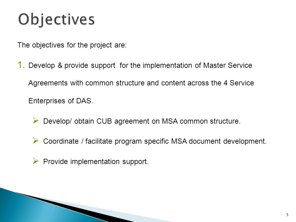 Master Service Agreement Msa Development Ppt Video Online Download