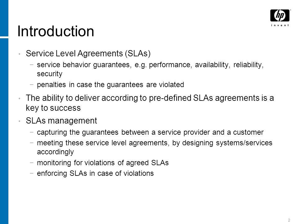 Presentation Title Sla Decomposition Translating Service Level