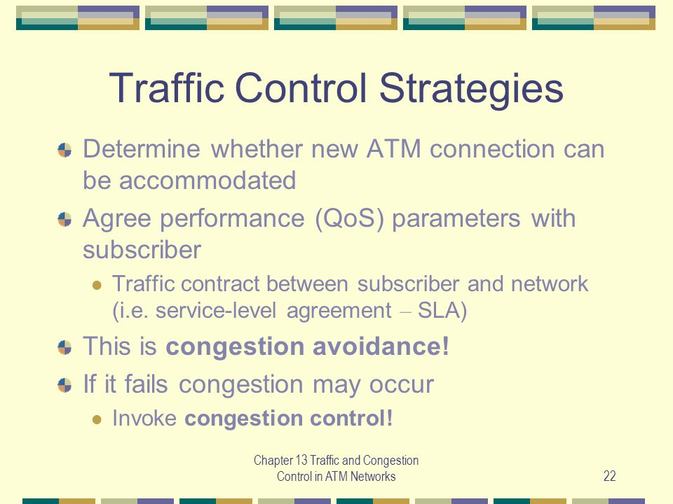 Traffic Control Strategies