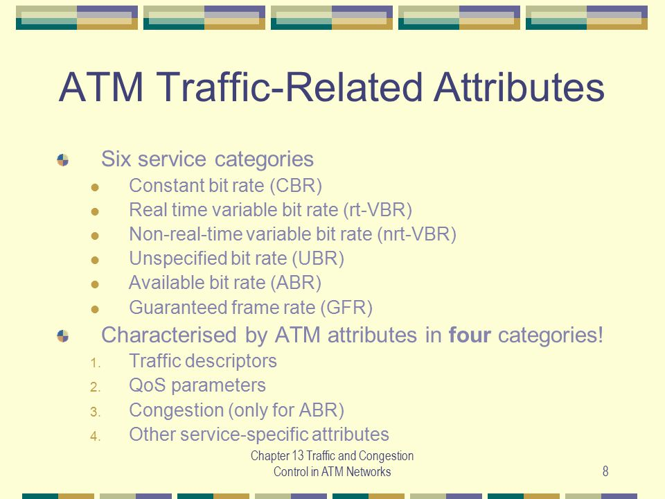 ATM Traffic-Related Attributes