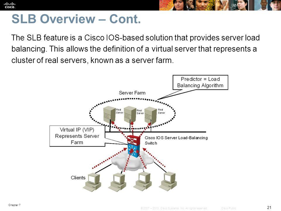 Slb Cisco 3750