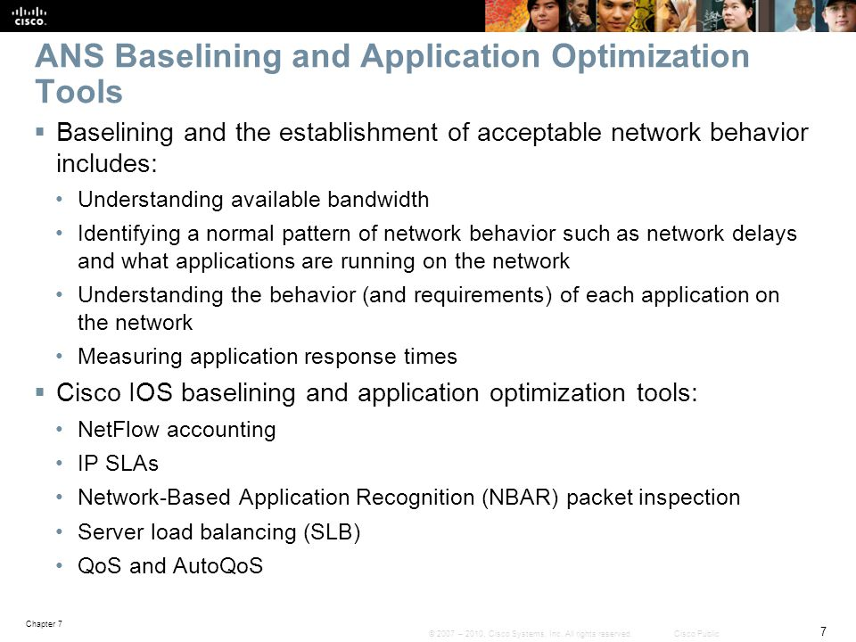 Chapter 7: Troubleshooting Network Performance Issues ...