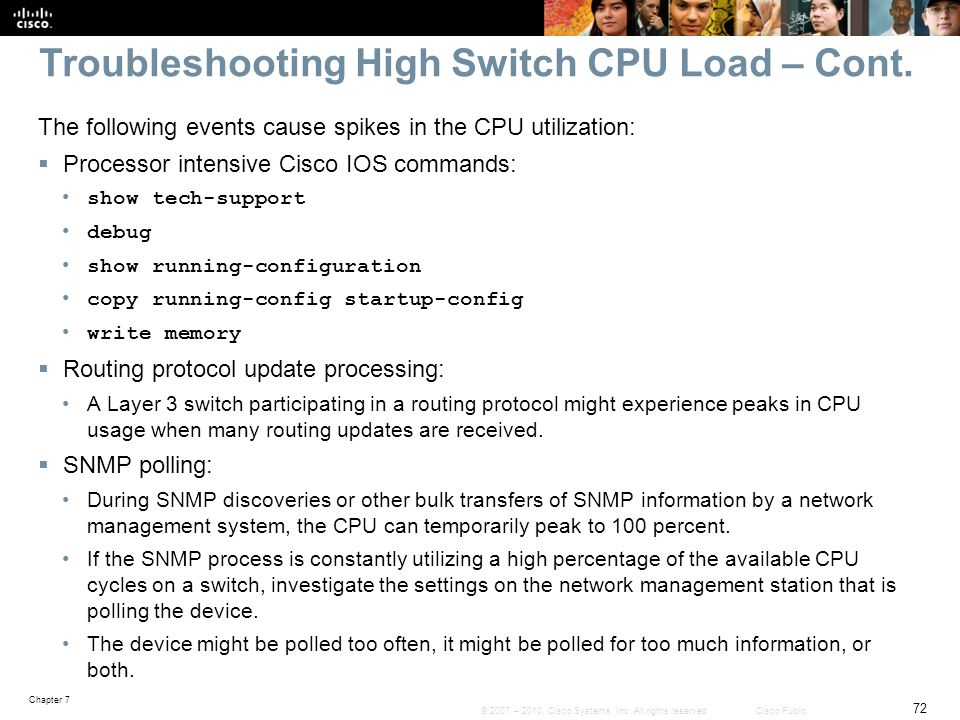 Chapter 7: Troubleshooting Network Performance Issues - ppt