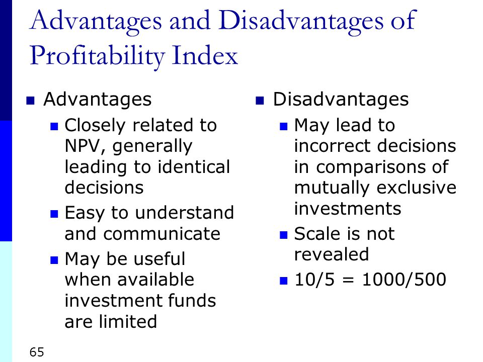 advantages and disadvantages of npv and irr