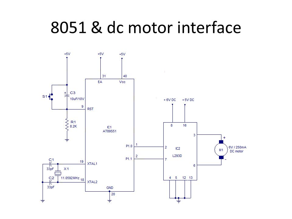 Interfacing of 8051 UNIT ppt video online download