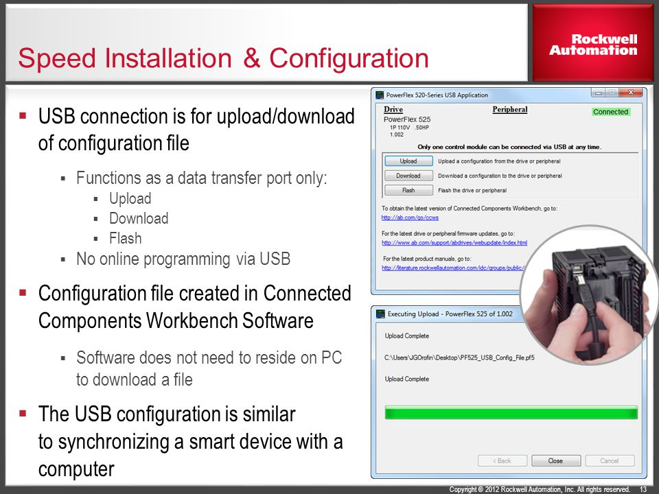 Allen-Bradley® PowerFlex® 525 AC Drives - ppt video online download