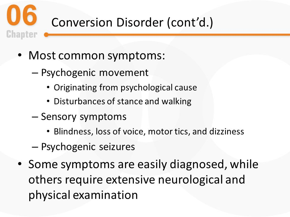 Somatic Symptom and Dissociative Disorders - ppt download