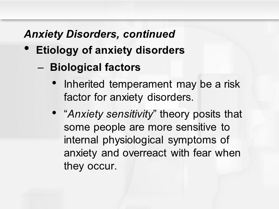 The Biology Of Anxious Temperament May >> Psychological Disorders Ppt Download