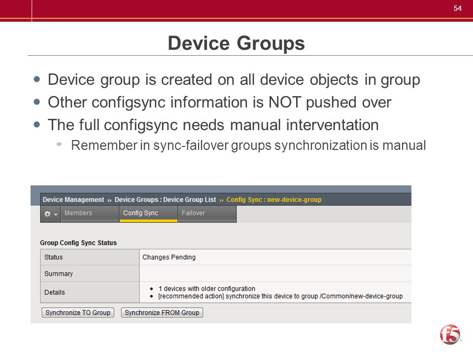 F5 User's Group  - ppt download