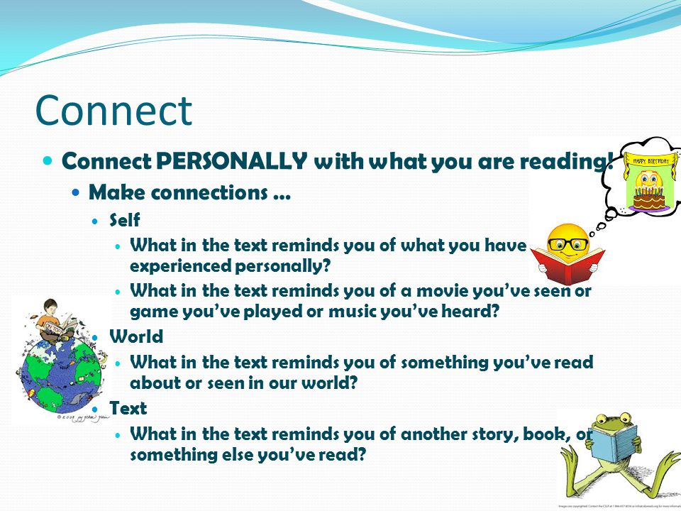 Connect Connect PERSONALLY with what you are reading!