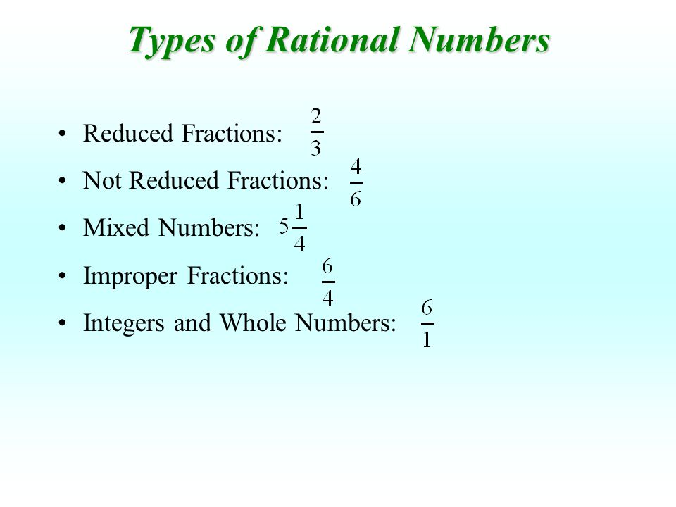 Adding and Subtracting Rational Numbers - ppt video online download