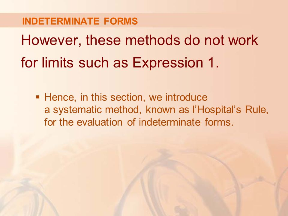 However, these methods do not work for limits such as Expression 1.