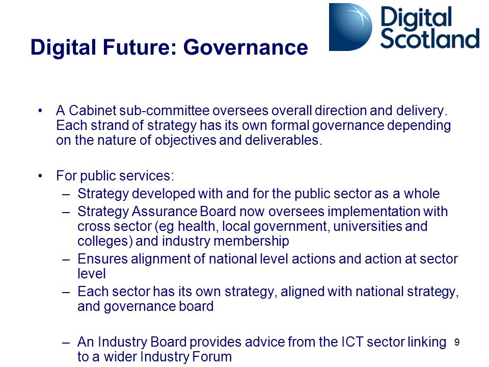 Digital Future: Governance