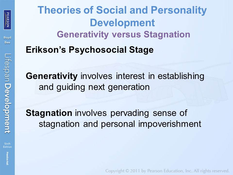 middle adulthood development theories