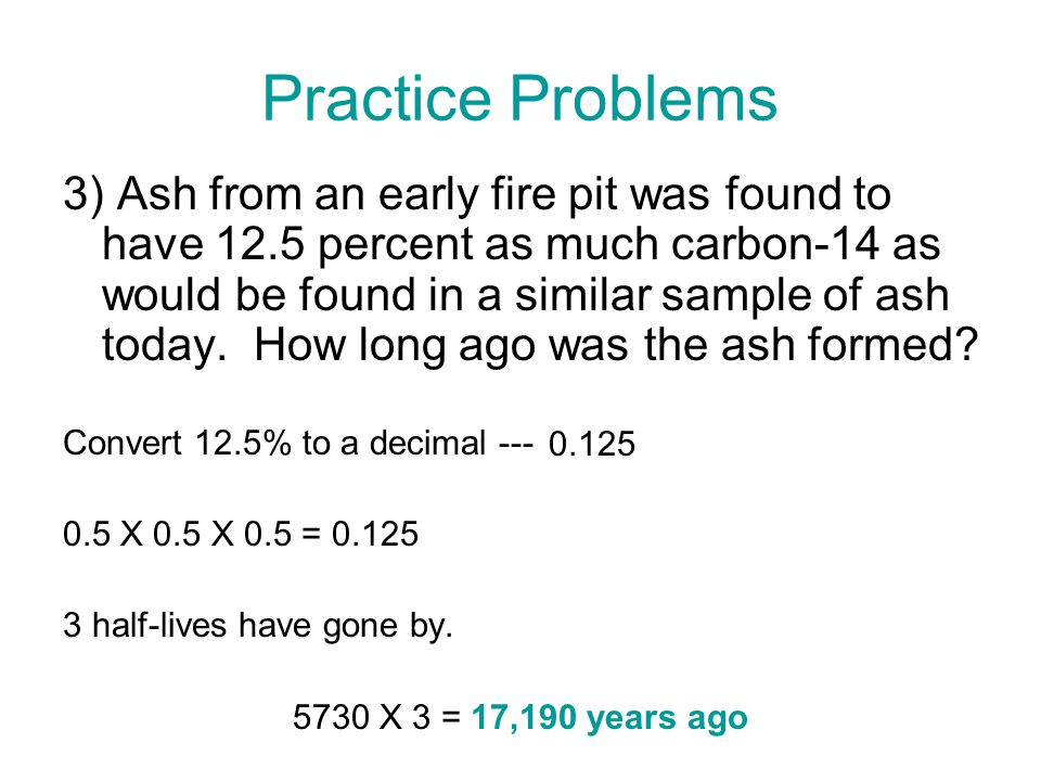 how is the half-life of carbon-14 used for dating archaeological samples