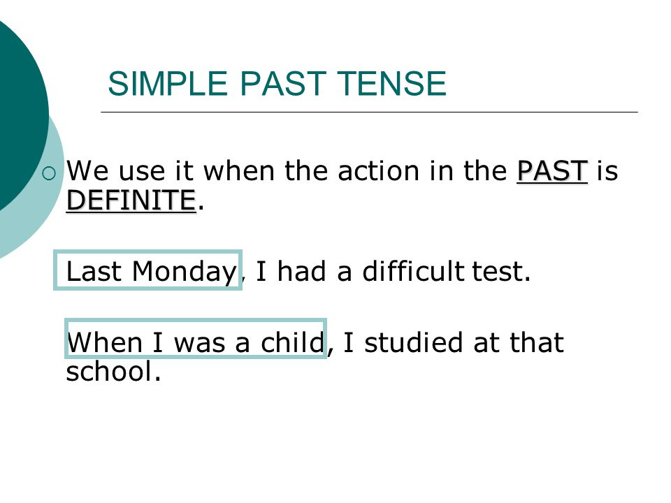 SIMPLE PAST or PRESENT PERFECT TENSE - ppt video online download