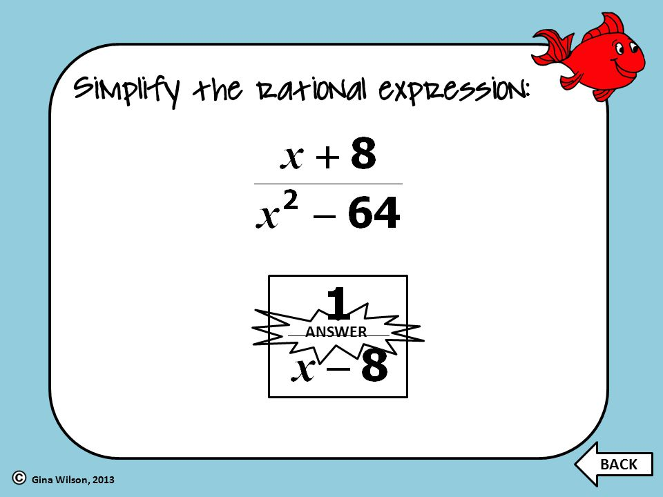 with Rational Expressions! - ppt video online download