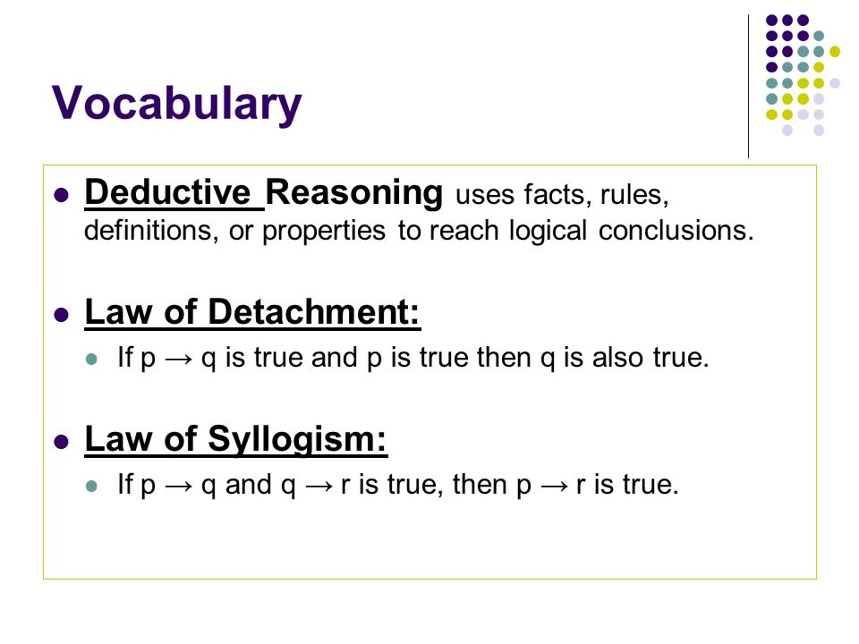 2 1 Inductive Reasoning Conjecture 2 2 Logic 2 Ppt Video