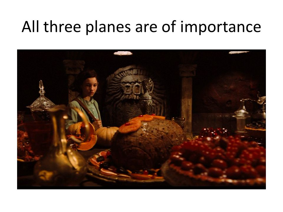 All three planes are of importance