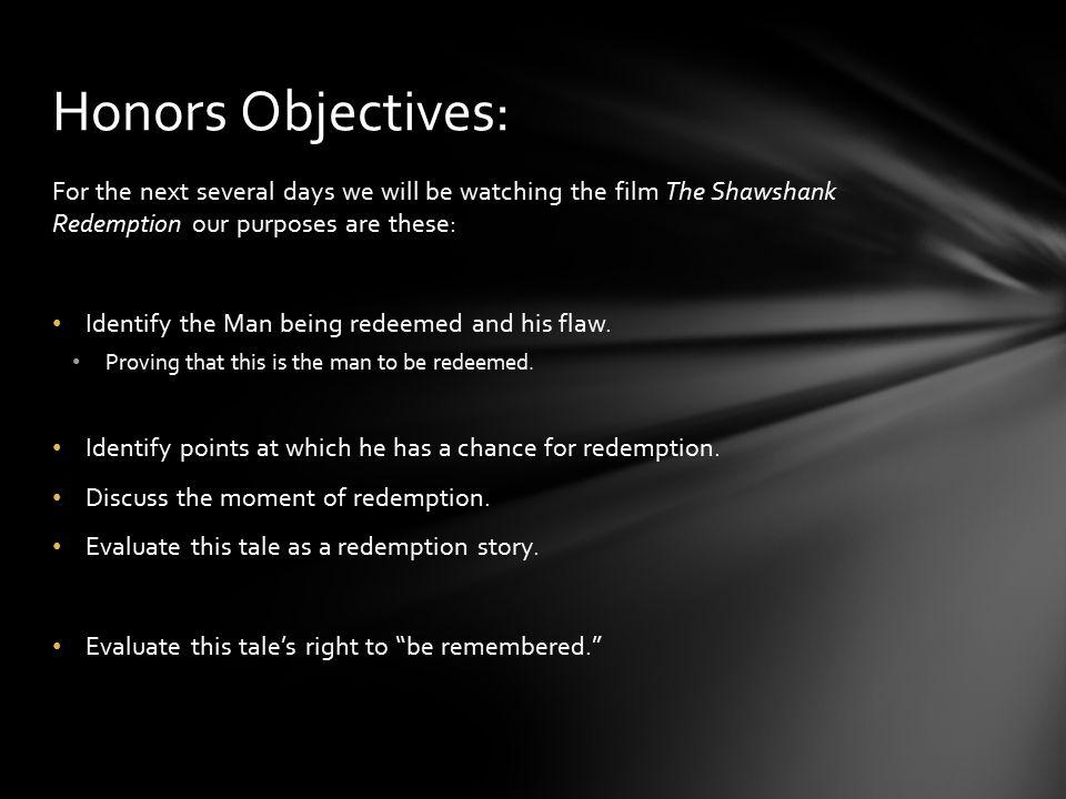 shawshank redemption analysis themes