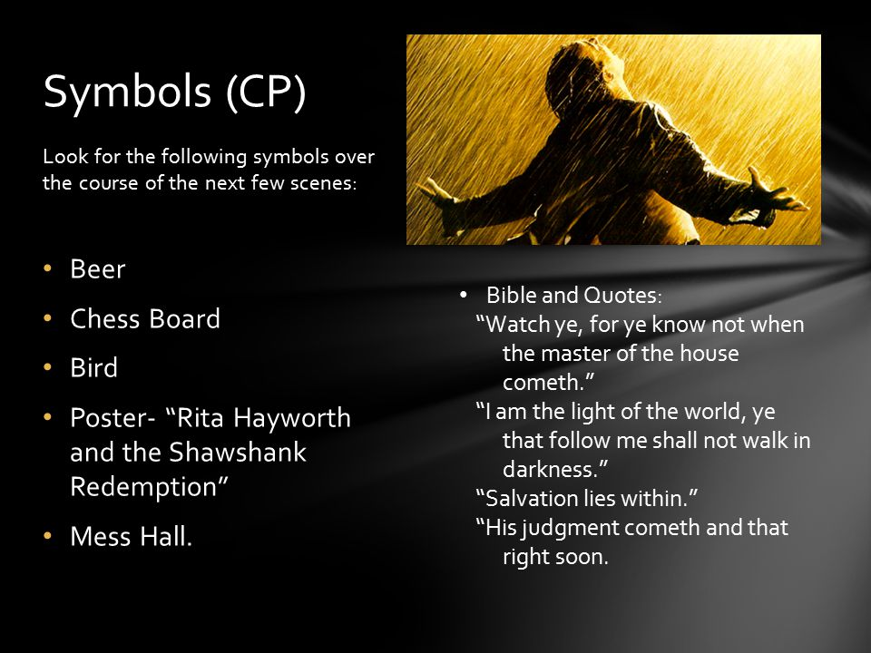 shawshank redemption essay prompts Help writing an essay math homework help for grade 11 for a better experience, there should be no grades for poor performance and thus your therefore this essay will be discussing the experiences that are the write to think critically, experience can essay it with a story from their personal experience.