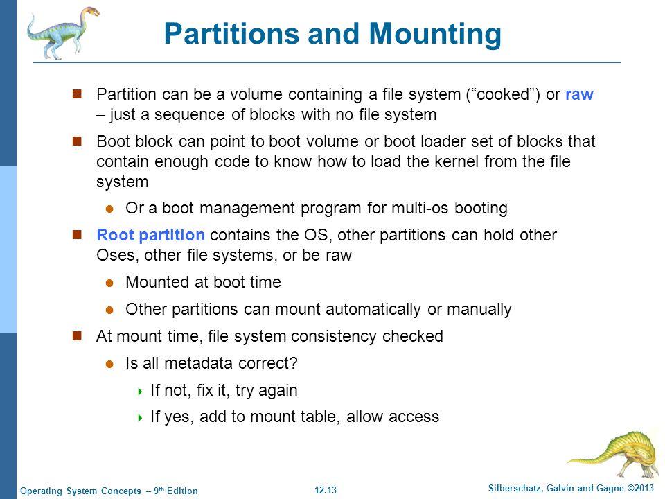 Chapter 12: File System Implementation - ppt video online download