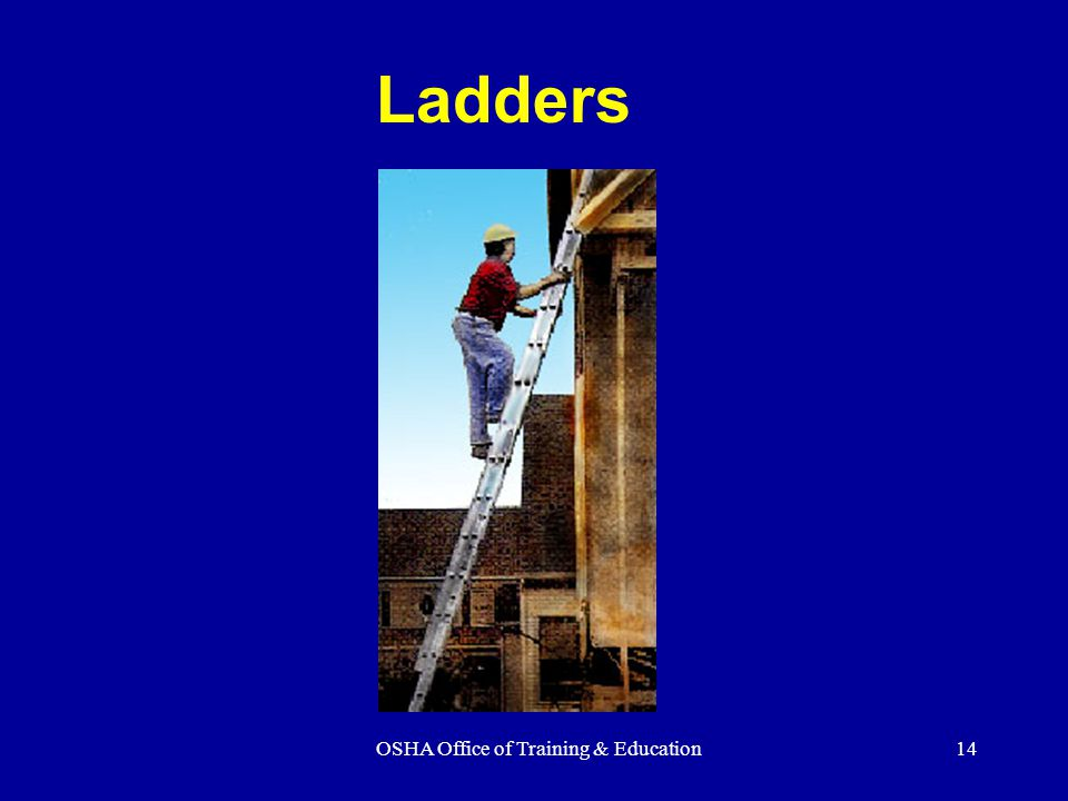 OSHA Office of Training & Education - ppt video online download