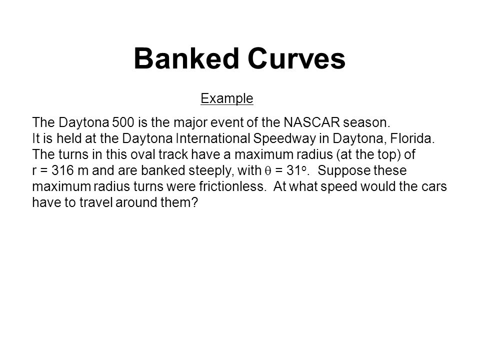 Banked Curves Ch 7 and ppt video online download