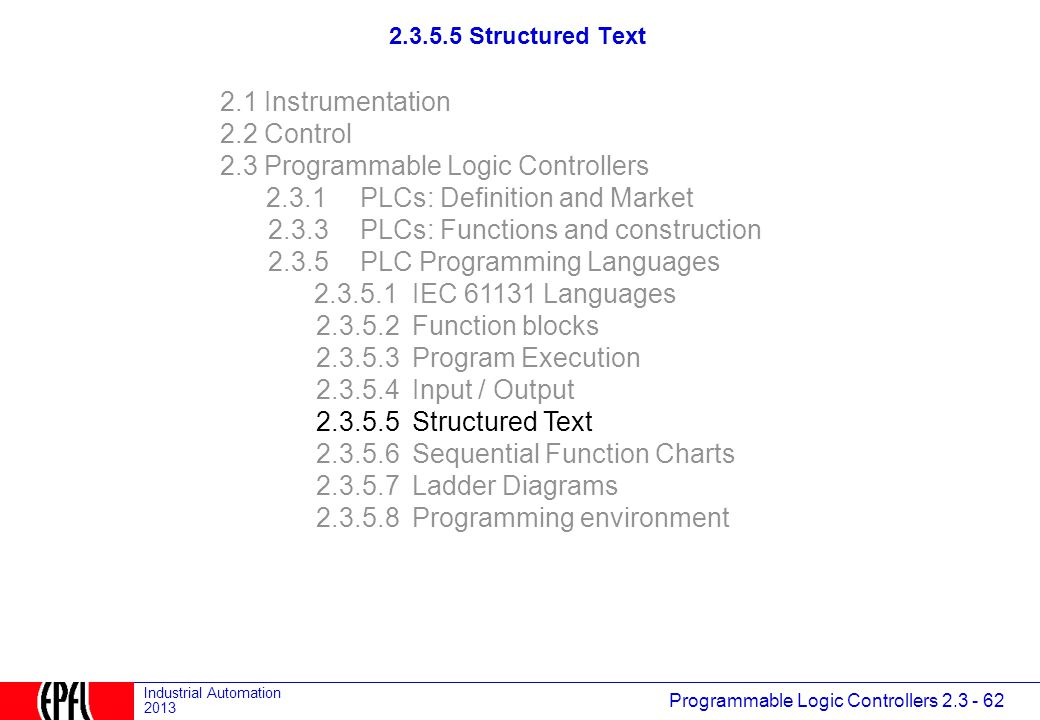 2 3 1 PLCs: Definition and Market - ppt download
