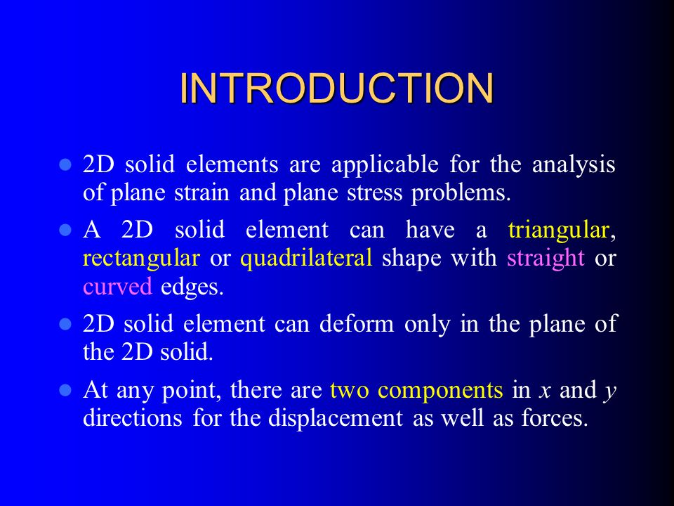 The Finite Element Method A Practical Course - ppt video online download