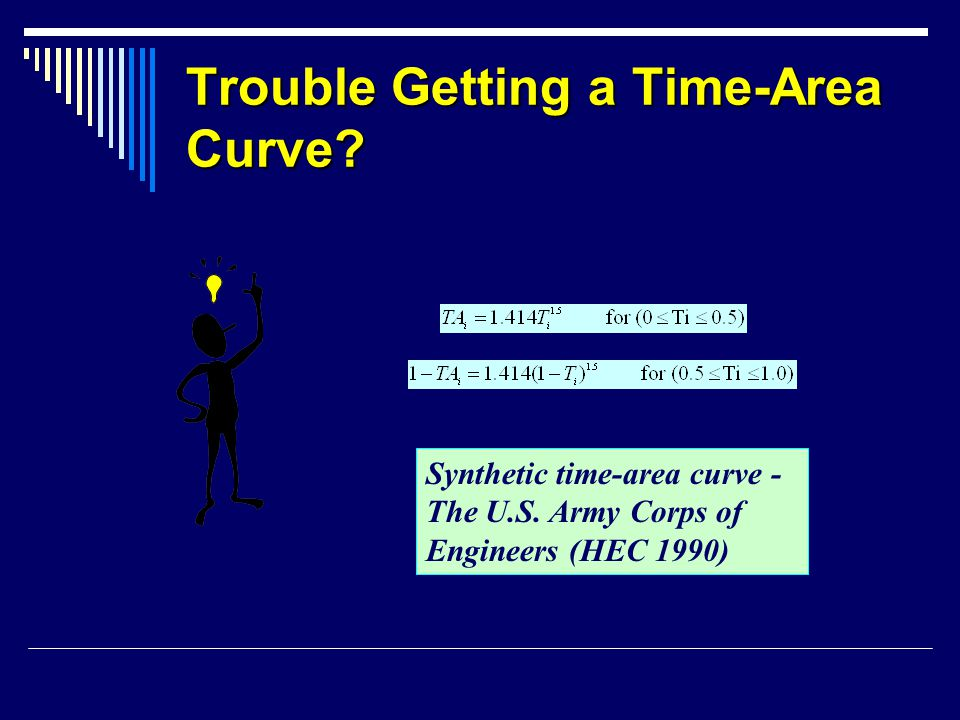Trouble Getting a Time-Area Curve