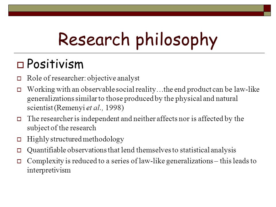 research strategy in methodology