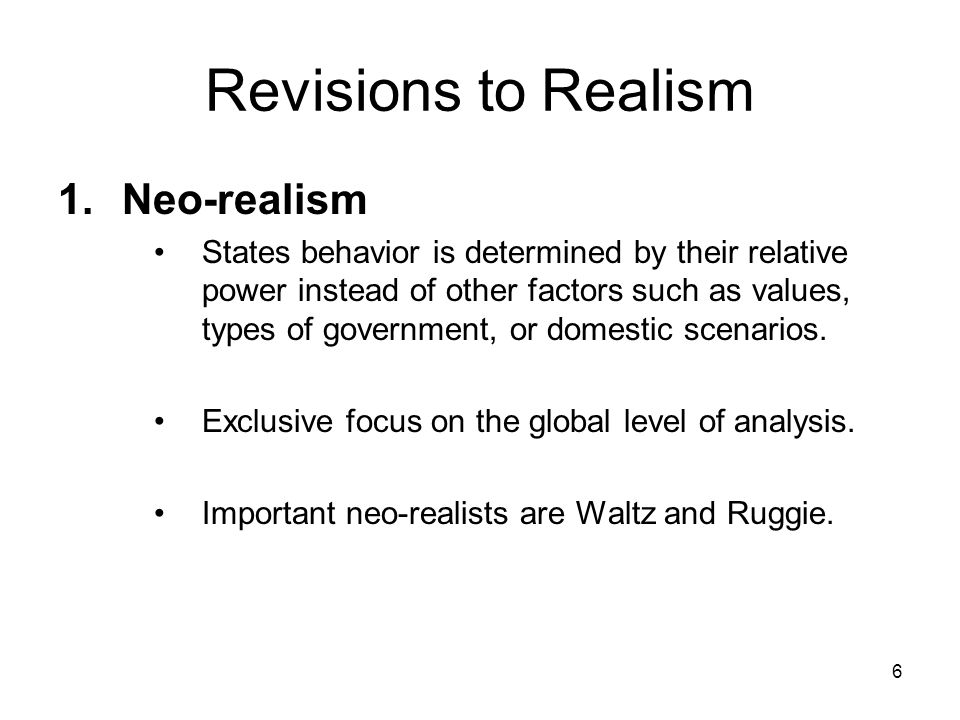 domestic realism