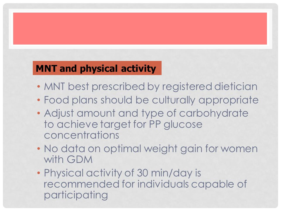 MNT best prescribed by registered dietician