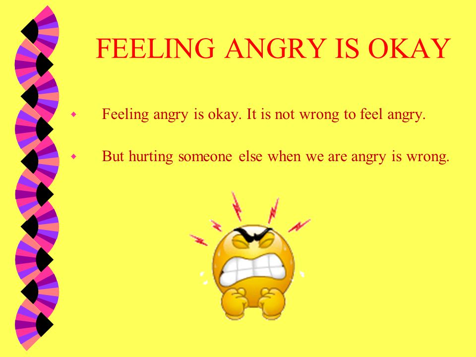 what to do when you re angry