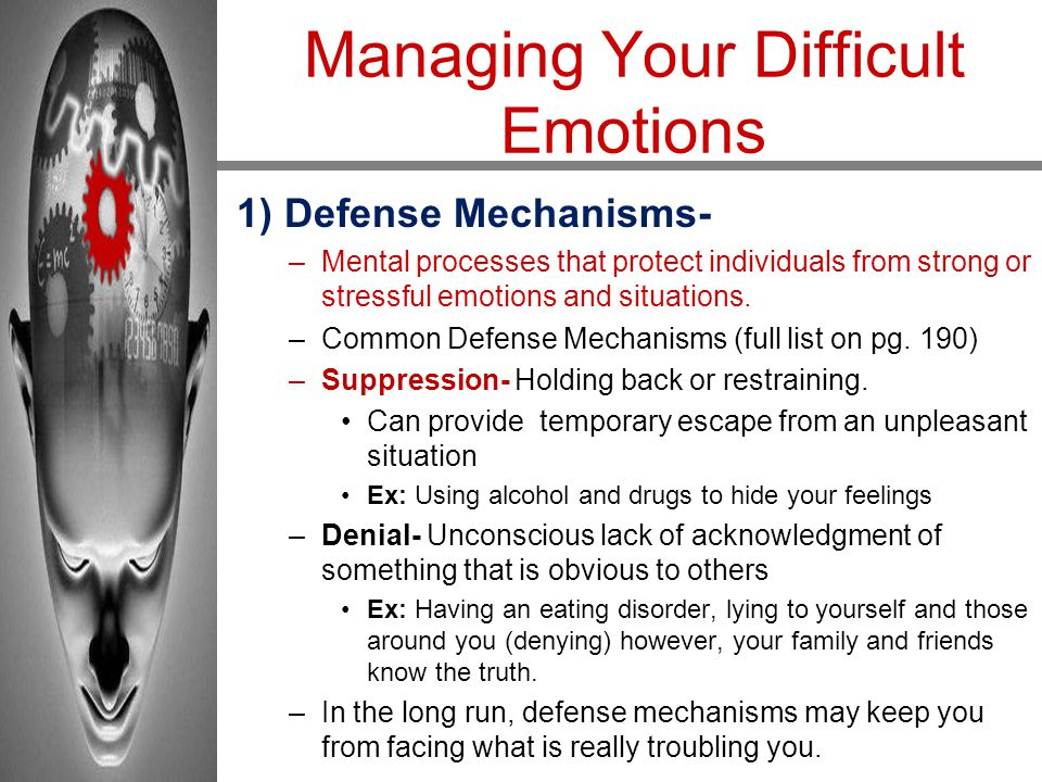 Managing Your Difficult Emotions