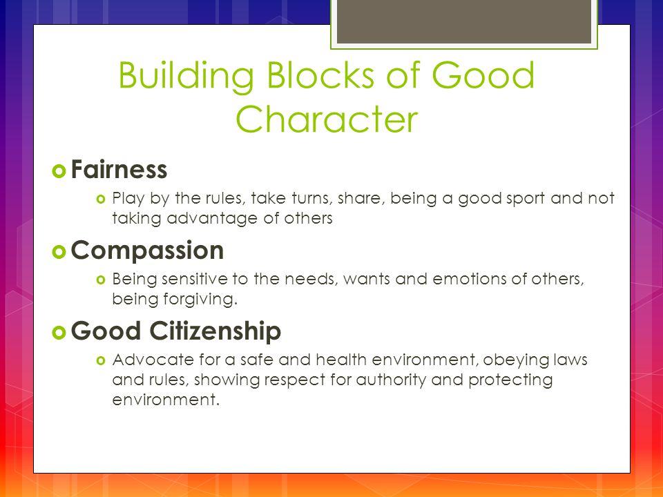 advantages of being a good citizen