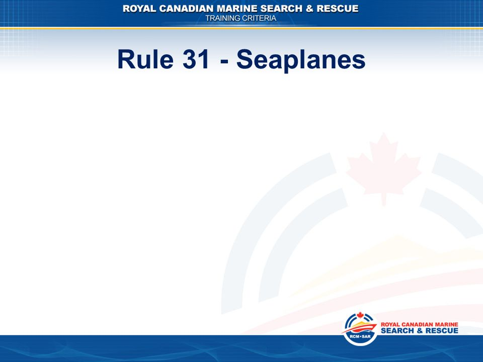 international rules for preventing collisions at sea part c rules