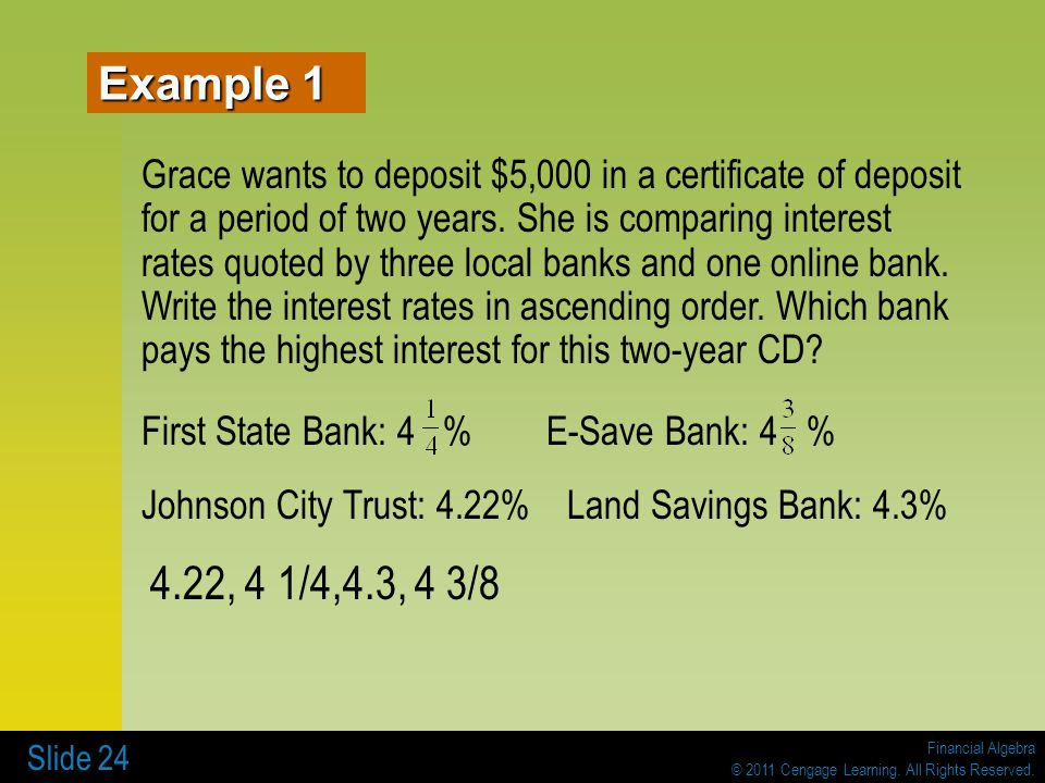 3 Banking Services 3 1 Checking Accounts Ppt Video Online Download